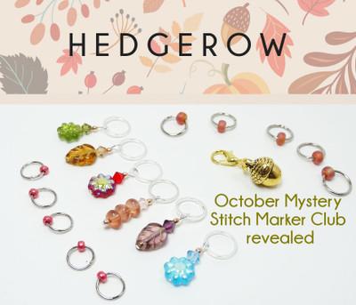October Mystery Stitch Marker Club Revealed!