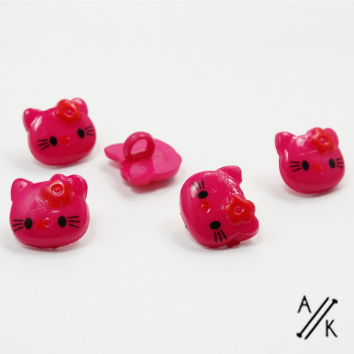 Kitty Buttons