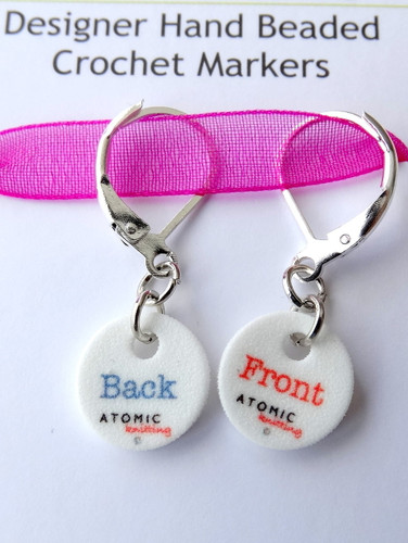 Instructional Stitch Markers - Front/Back