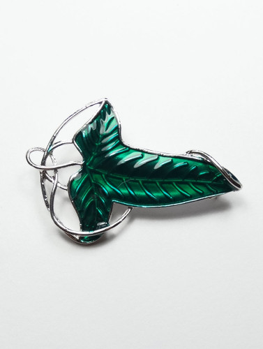 Ivy leaf brooch