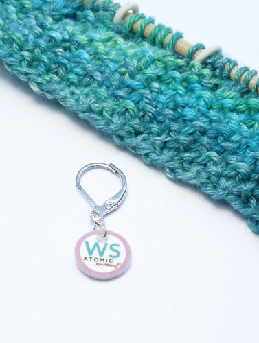 WS stitch marker (shown with removable/6mm crochet clasp)