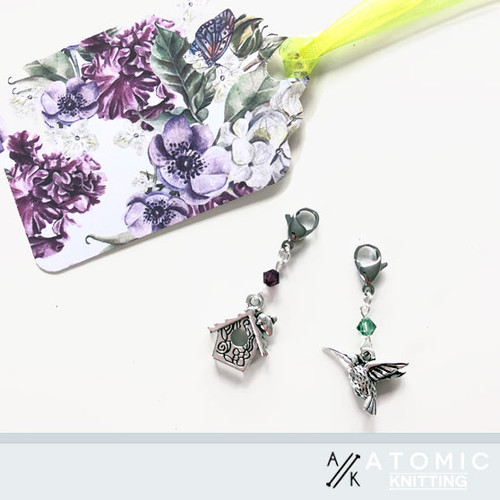 Hummingbird & House Gift Tag
