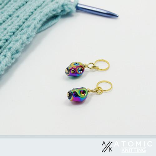 Skull Stitch Markers