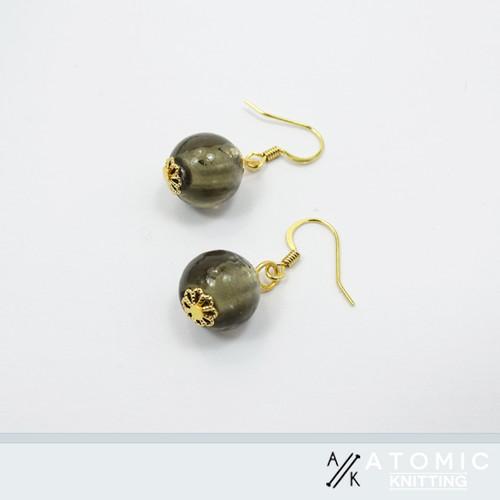 Grey & Gold Earrings