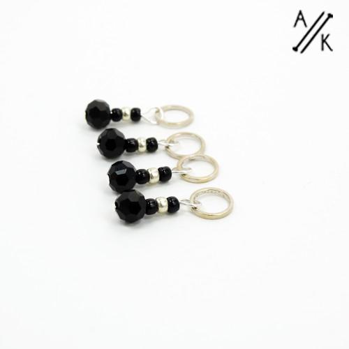 Black-berry Stitch Markers | Atomic Knitting