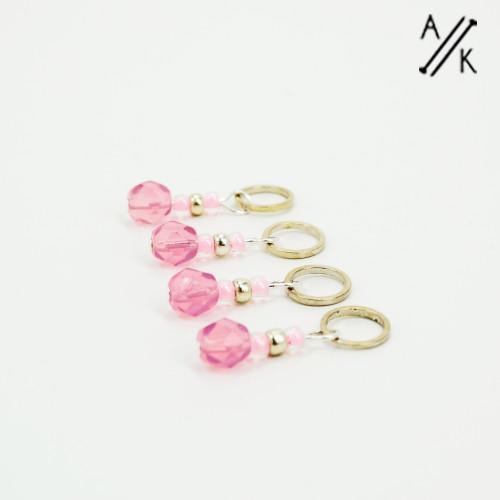Blossom-berry Stitch Markers | Atomic Knitting