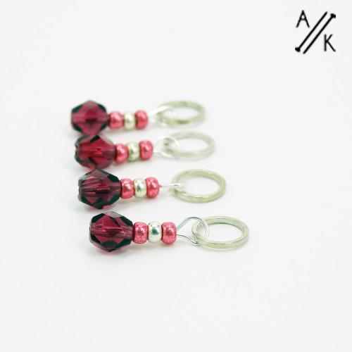 Anise-berry Stitch Markers | Atomic Knitting