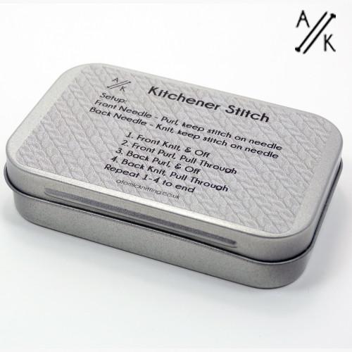 Kitchener Stitch Tin - Tin Only | Atomic Knitting