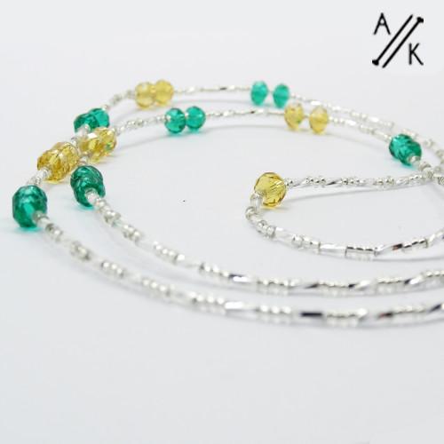 Beaded Glasses Chain | Atomic Knitting