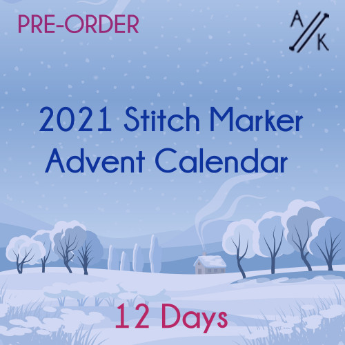 2021 Advent Calendar of Stitch Markers - 12 days