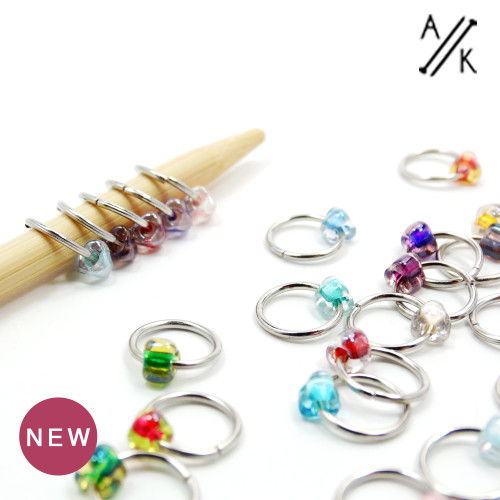 Every Flavour 6mm Jewel Stitch Markers