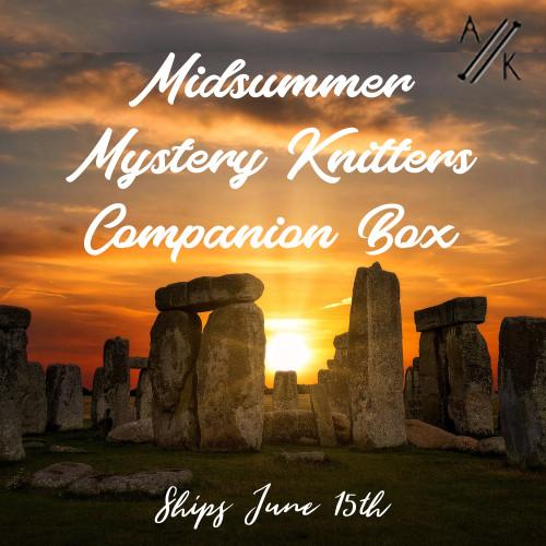 PRE-ORDER - MYSTERY Midsummer Knitters Companion Box
