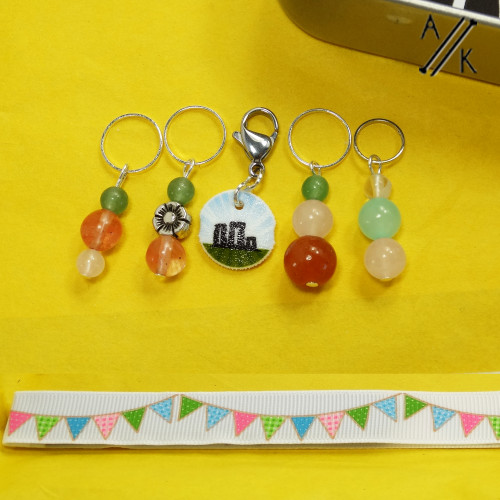 Midsummer Stitch Markers & Pattern Tamer ONLY