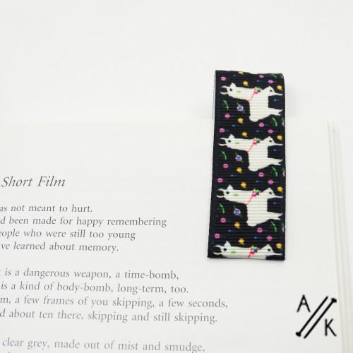 Magnetic Bookmark | Atomic Knitting