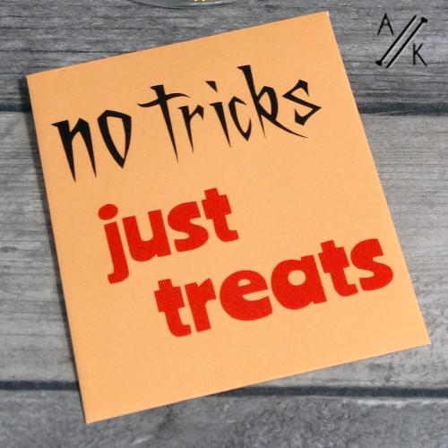 No Tricks Just Treats Halloween Mystery Stitch Marker Set