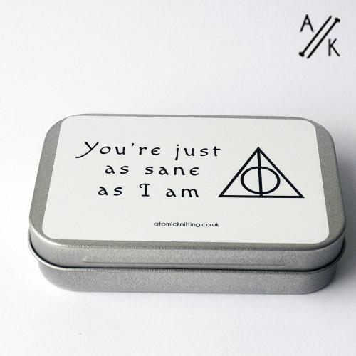 Just As Sane DEEP Tin - tin only | Atomic Knitting