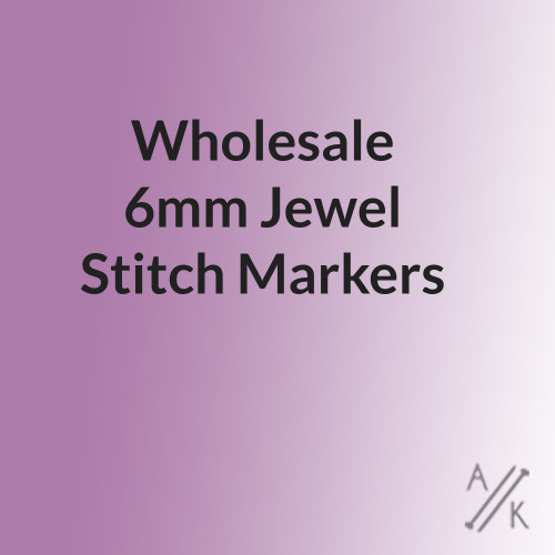 Jewel Stitch Markers for knitting - wholesale pack of 10