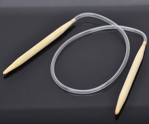 1 Pair 100cm Circular Knitting Needle Size 6.5mm