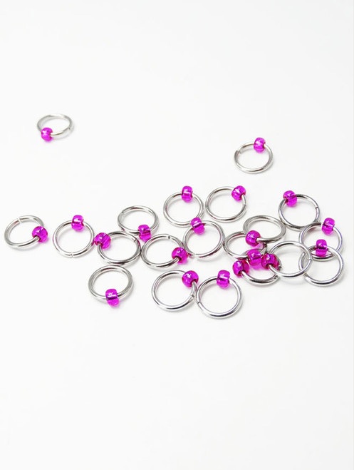 Jewel Dangle Free knitting stitch markers