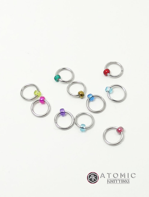Mystery Jewel Stitch Markers