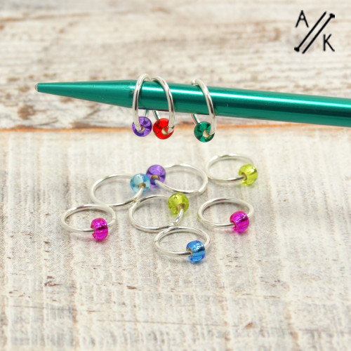 Mystery 5mm Jewel Stitch Markers