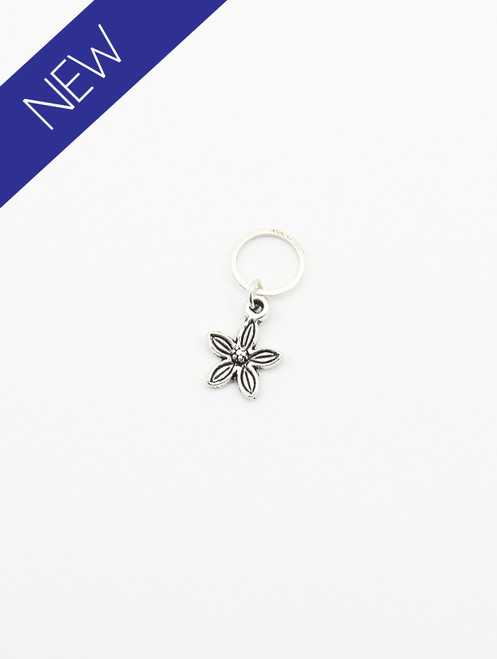 Flower stitch marker