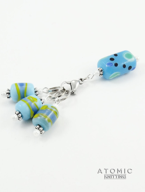 Lampwork Stitch Marker Set