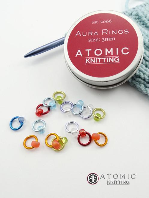 Aura Snag Free Stitch Markers