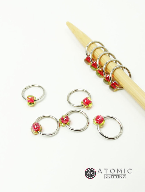 Jewel Stitch Markers
