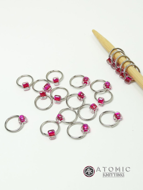 20 Stitch Marker Set