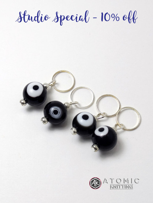 Evil Eye Stitch Markers