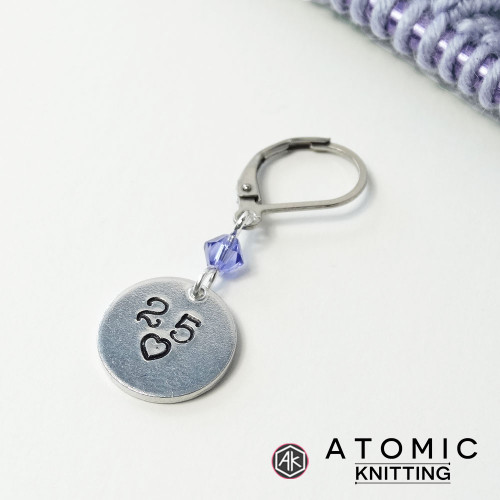 Numbered Stitch Marker