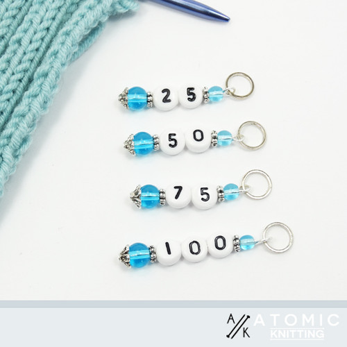 Aqua Counting Markers