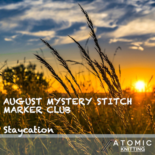 August Mystery Stitch Marker Club