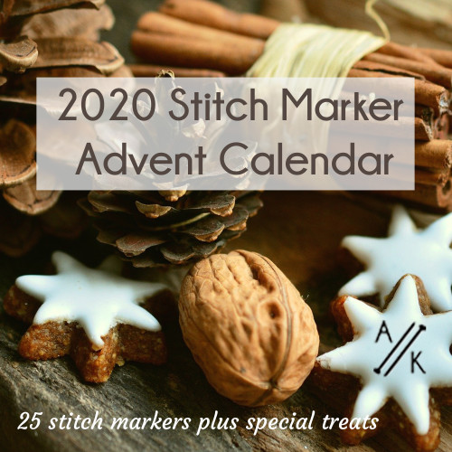 2020 Advent Calendar of Stitch Markers