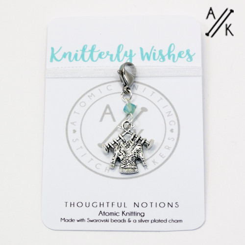Knitterly Wishes Charm Progress Marker | Atomic Knitting