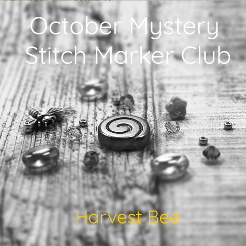 October Mystery Stitch Marker Club