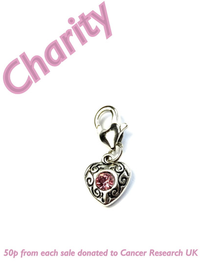 Charity Breast Cancer Progress Stitch Marker
