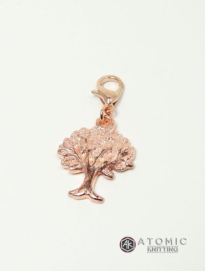 Rose Gold Tree of Life Progress Marker