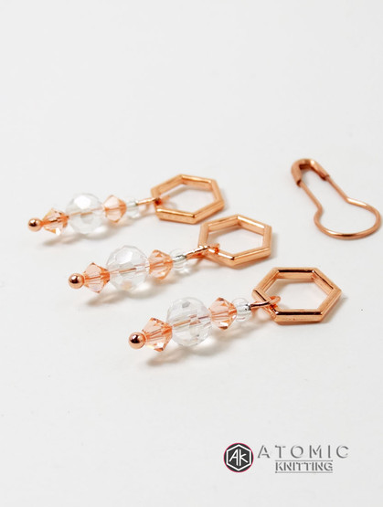 Rose gold set