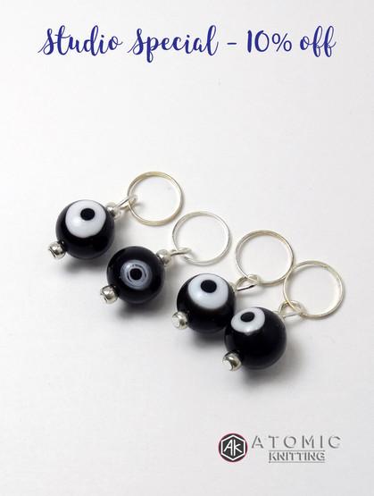 Evil Eye Stitch Markers
