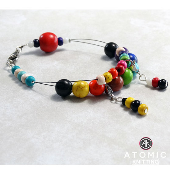 Bead Counting Abacus Bracelet Row Counter