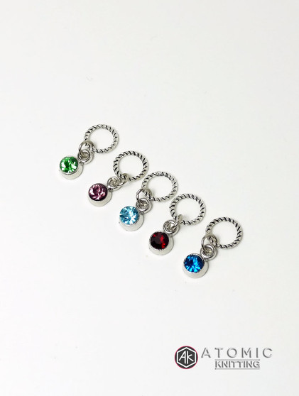 Bejewelled Stitch Markers