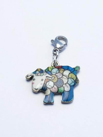Rainbow Sheep Stitch Marker