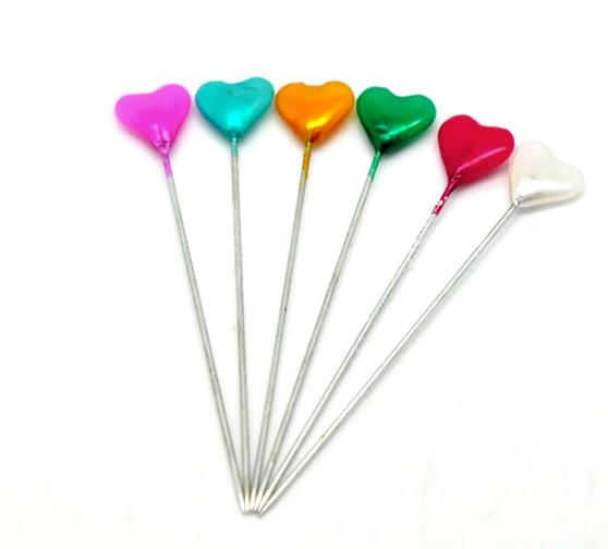 Heart Pin Wheel - 30 x 5.5cm pins
