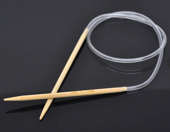 1 Pair 50cm Circular Knitting Needle Size 3.75mm