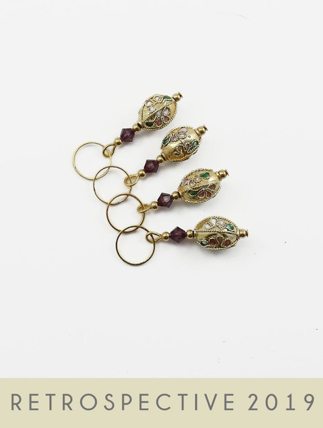 Cloisonne Gold Oval