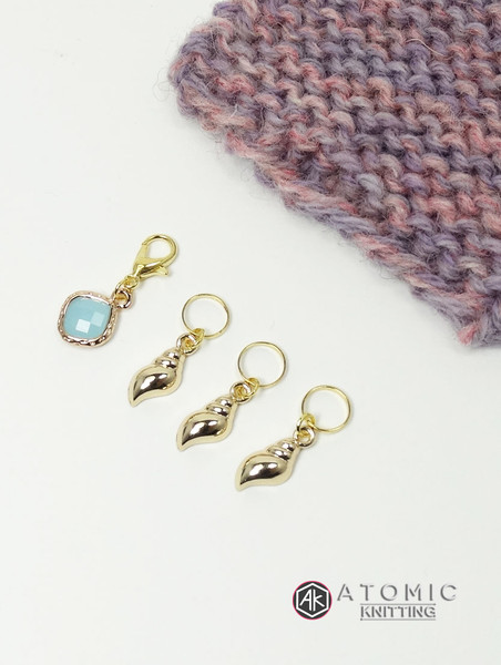 Shell Stitch Marker Sets