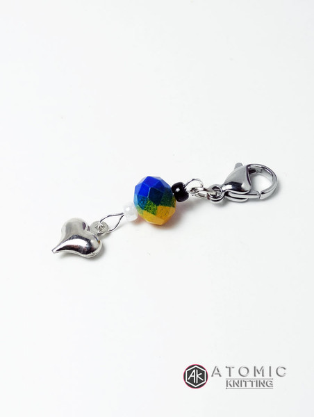 Love Rainbow Stitch Marker