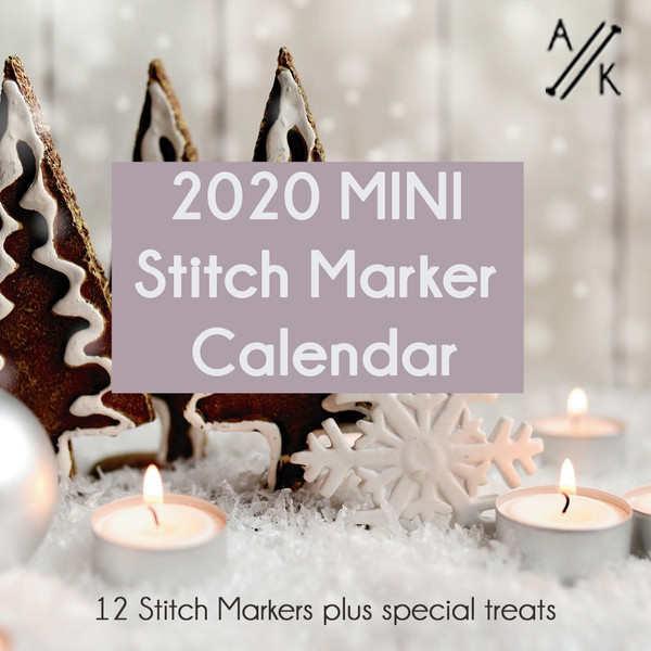 2020 Mini Advent Calendar of Stitch Markers